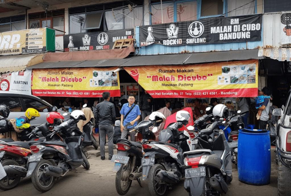 Rumah Makan Padang Malah Dicubo