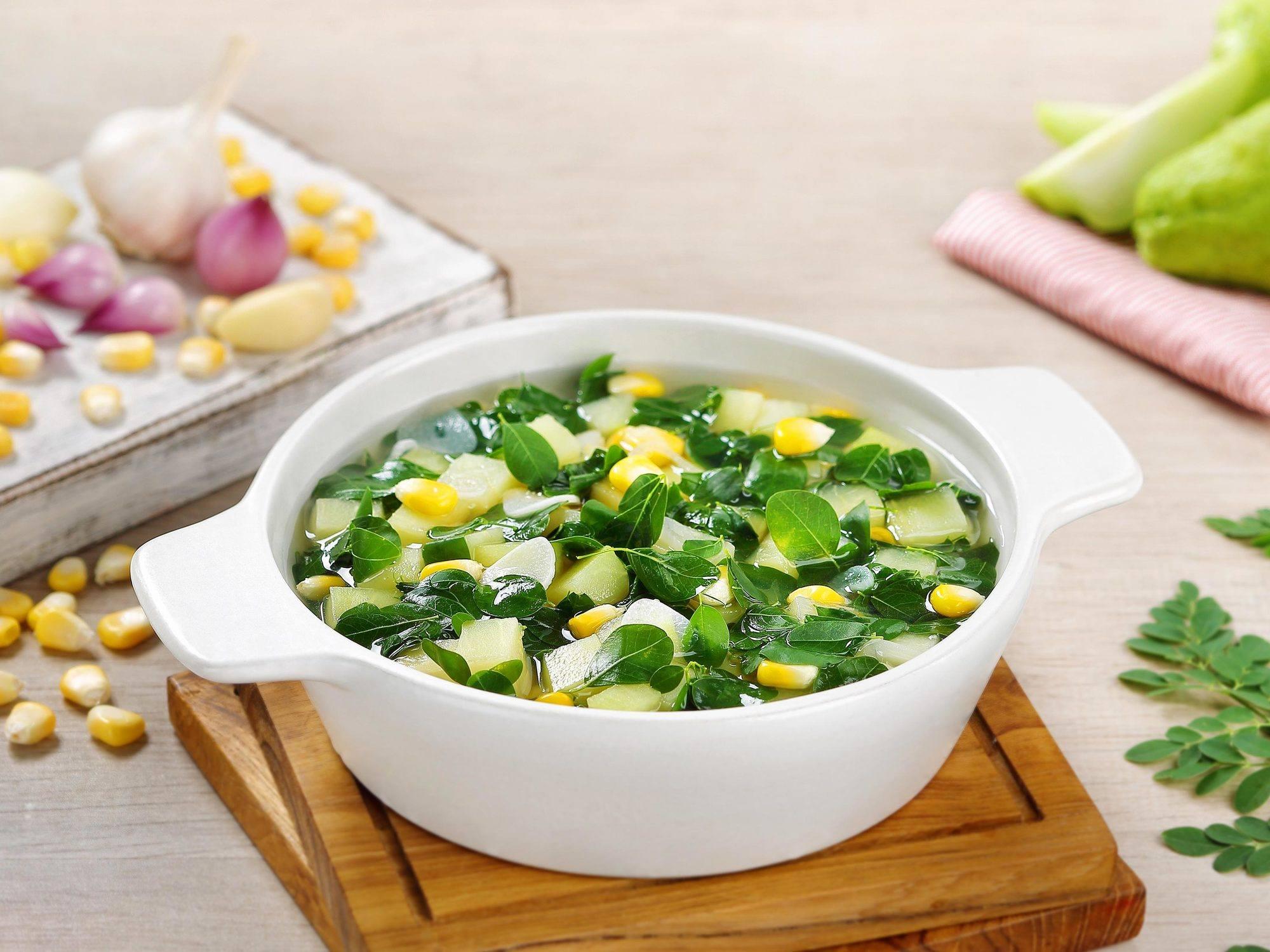 Macam-macam Sayur Bening Sehat dan Sedap