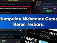 New Nama FF Keren Viral 2021